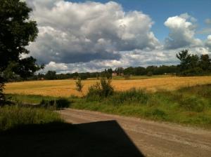 Ute hos mig på landsbygden