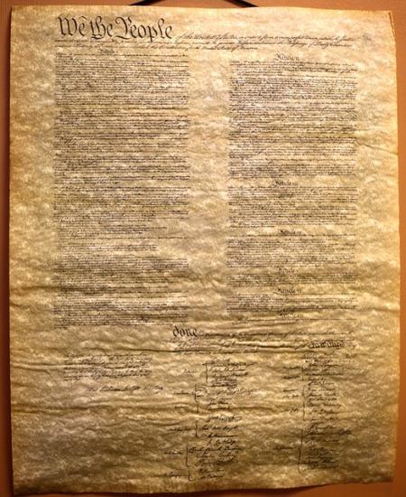 Amerikanska konstitutionen